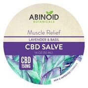 Abinoid-Botanicals-Salve-150mg-Lavendar-Basil-Muscle-Relief