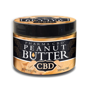 CBD-Peanut-Butter 500mg net weight 6oz.
