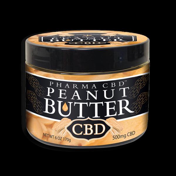 CBD-Peanut-Butter 500mg net weight 6oz.