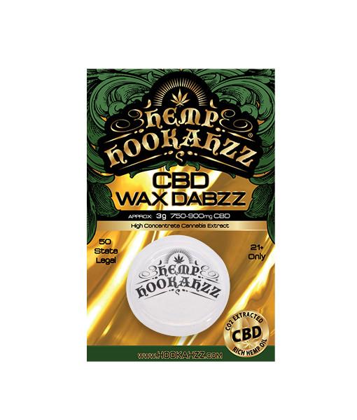 CBD Wax Dabs - 3g of CBD WAX per container
